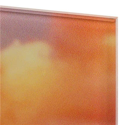 Картина на стекле 30х30 см Ванильные облака