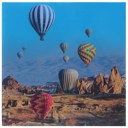 Купить Картина на стекле 30х30 см Воздушные шары-1 дешевле