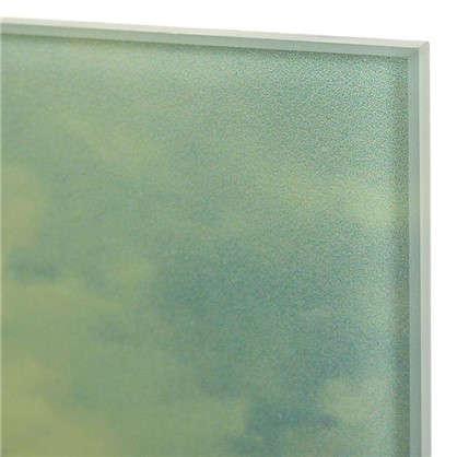 Картина на стекле 40х50 см Закат над полем