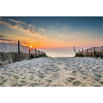 Картина на стекле 50x70 см Дорога на пляж