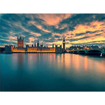 Картина на стекле 50x70 см Лондон