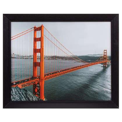 Купить Картина в раме 40х50 см Golden Gate дешевле