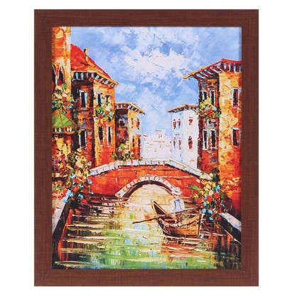 Купить Картина в раме 40х50 см Венеция дешевле
