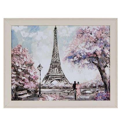 Купить Картина в раме 40x50 см Весна в Париже дешевле
