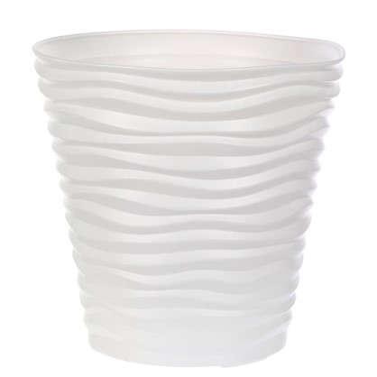 Кашпо Дюна 50 л 45 см цвет белый