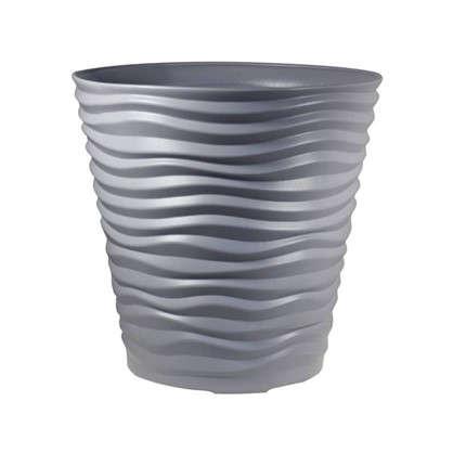 Кашпо Дюна 50 л 45 см цвет серый
