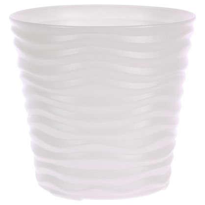 Кашпо Дюна 8.5 л 24 см цвет белый