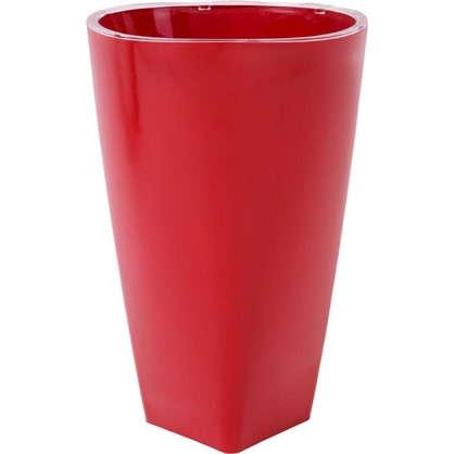 Кашпо Грейс 15 см цвет красный