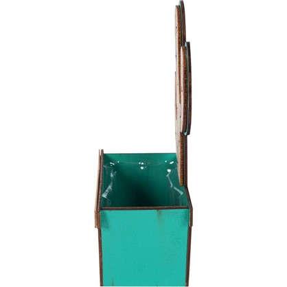 Купить Кашпо Камни 1.4 л 150 мм с поддоном цвет белый дешевле