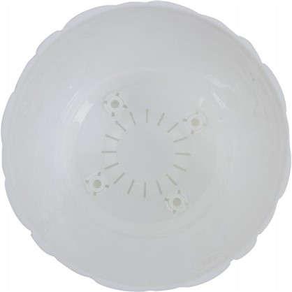 Кашпо Камни 180 мм 2.6 л цвет белый