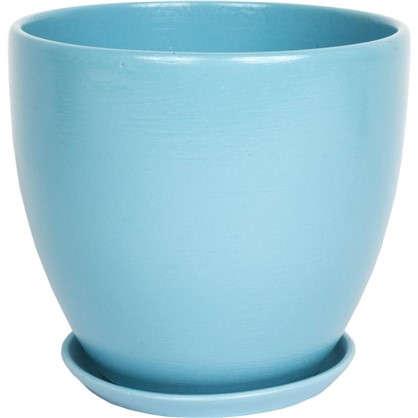 Кашпо Камни 2.6 л 180 мм с поддоном цвет чайная роза