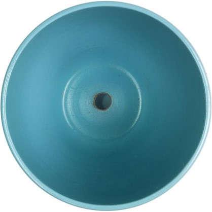 Кашпо Камни 4.8 л 220 мм с поддоном цвет белый