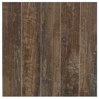 Купить Керамогранит Гарда 45х45 см 1.215 м2 цвет коричневый дешевле