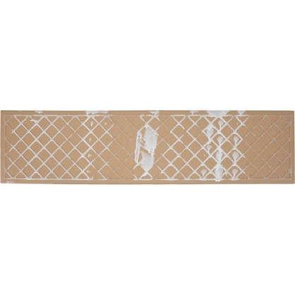 Купить Керамогранит Marble 15х60 см 1.36 м² цвет белый дешевле