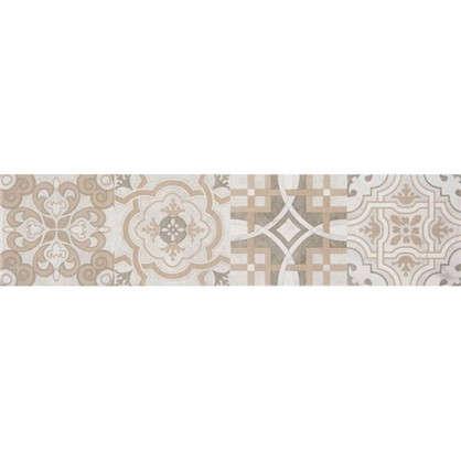 Купить Керамогранит Патч 60x15 см 1.36 м2 цвет серый дешевле