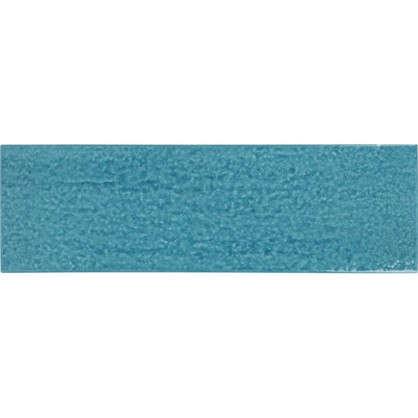 Керамогранит Teo 25x7.5 см 0.79 м2 цвет синий глянцевый
