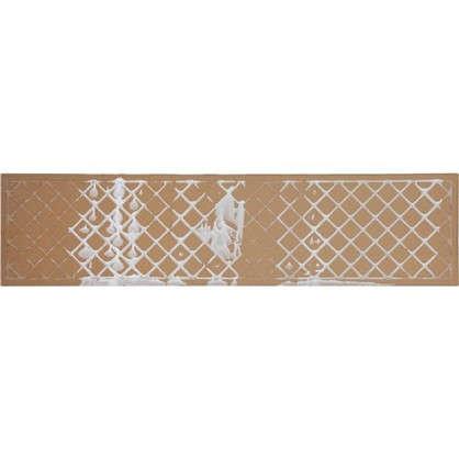 Керамогранит Tone 15х60 см 1.36 м² цвет белый матовый