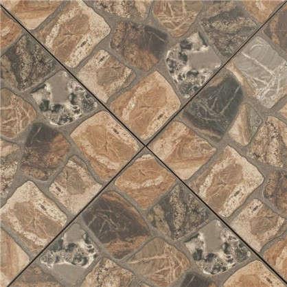 Купить Керамогранит Vilio Brown 32.6х32.6 см 1.17 м2 цвет коричневый дешевле