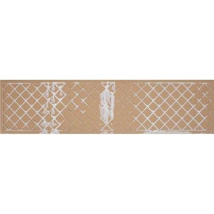 Керамогранит Wood Шале 15х60 см 1.36 м² цвет тёмно-коричневый
