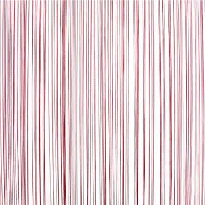 Кисея 150х280 см однотон цвет красный
