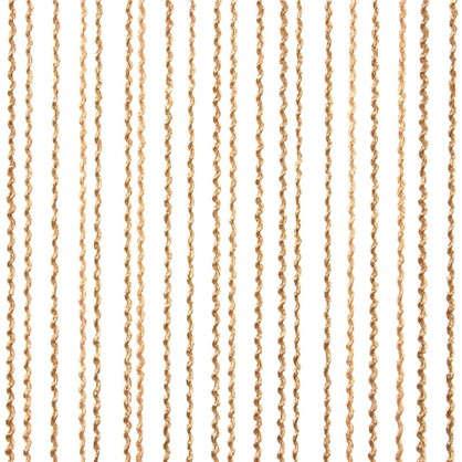 Кисея Макарони 150х280 см цвет золотой