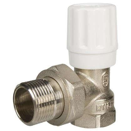 Клапан для радиатора регулировочный угловой Euros 3/4 дюйма