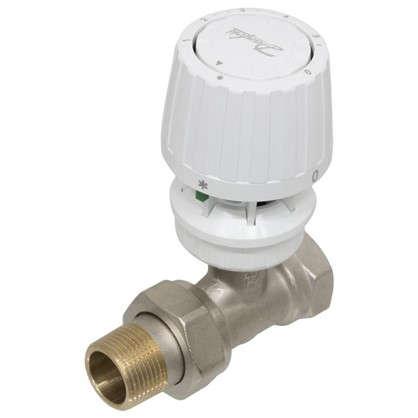 Купить Клапан для радиатора запорный прямой для двухтрубной системы отопления 3/4 дюйма дешевле