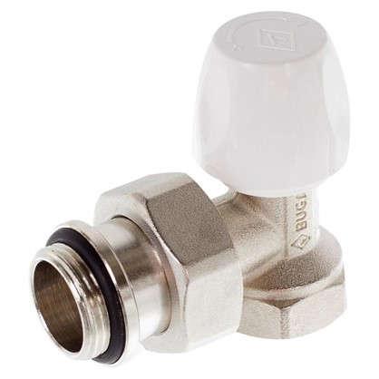 Клапан для радиатора запорный угловой Bugatti 3/4 дюйма