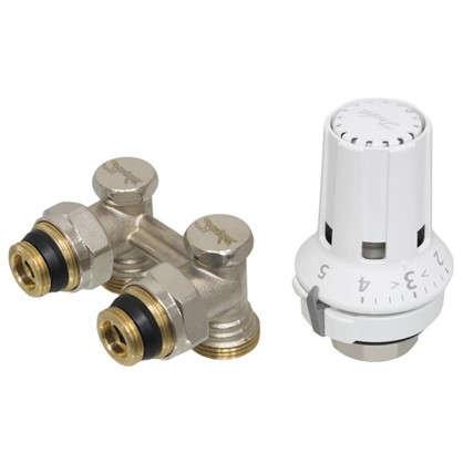 Клапан для радиатора запорный угловой М 30x16