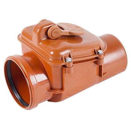 Купить Клапан обратный наружный 110 мм дешевле