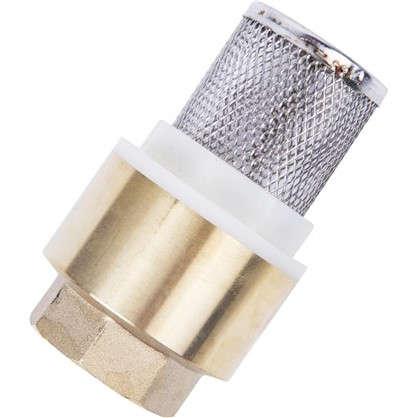 Купить Клапан с фильтром 3/4 дюйма дешевле