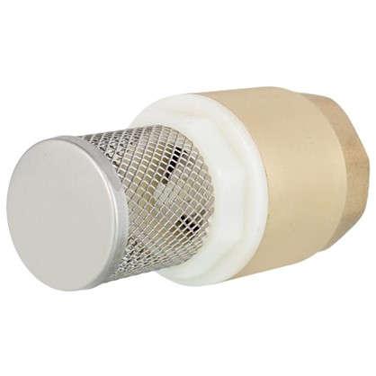 Клапан с фильтром цельный 1 дюйм
