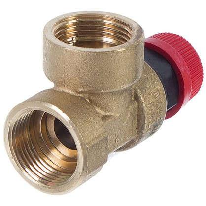 Клапан спускной Heizen на 3 атмосферы 3/4 дюйма цена