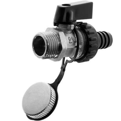 Клапан Valtec сливной 1/2 дюйма наружная-внутренняя резьба