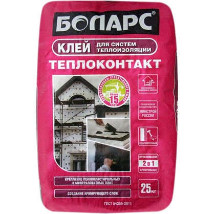 Клей Боларс Теплоконтакт 25 кг