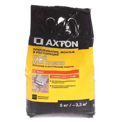 Клей для камня Axton 5 кг цвет белый