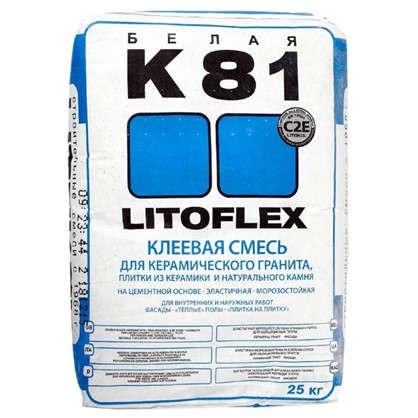 Клей для плитки Litokol Litoflex K81 25 кг