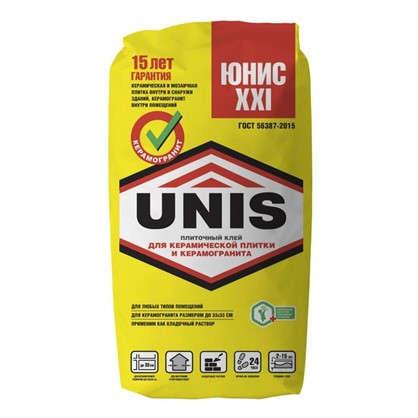 Клей для плитки Unis XXI 25 кг