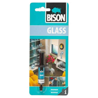 Клей для стекла Bison Glass 2 мл