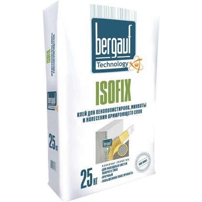 Клей для утеплителя Bergauf Isofix 25 кг