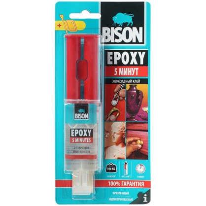 Клей эпоксидный Bison Epoxy 5 Min 24 мл