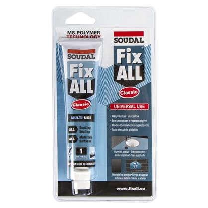 Клей-герметик специальный Soudal Fix All в блистере 80 мл