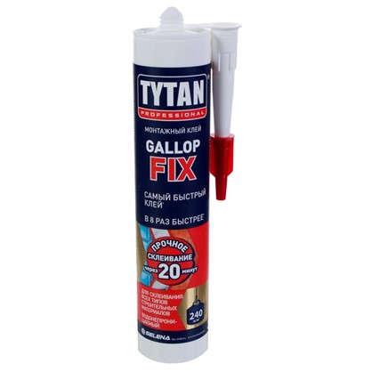 Клей-герметик Tytan Gallop Fix цвет белый 290 мл