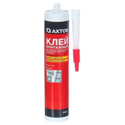 Клей монтажный Axton особопрочный 0.44 кг в картридже цена