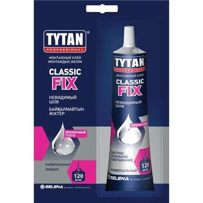 Клей монтажный Tytan Classic Fix бесцветный 100 мл