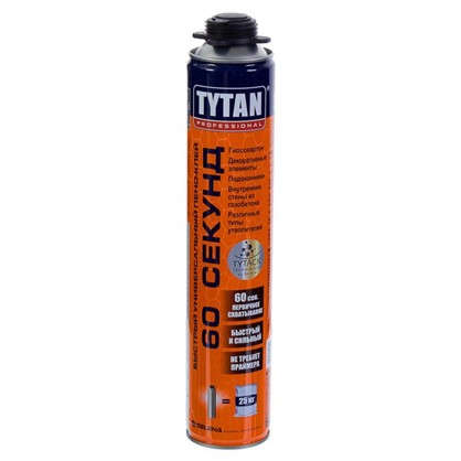 Клей-пена Tytan 60 секунд 750 мл