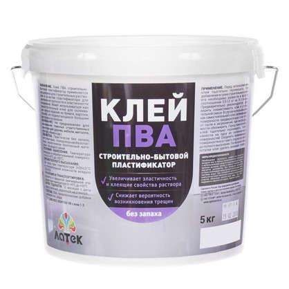 Клей ПВА для пластификации растворов 5 кг