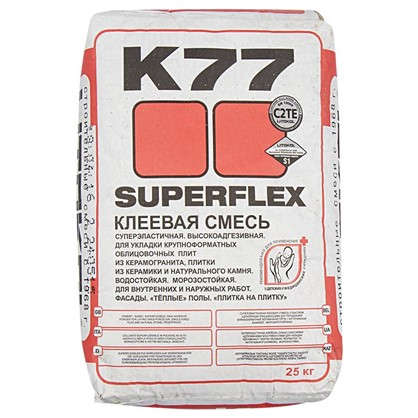 Клей Superflex K77 25 кг