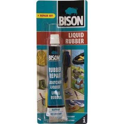 Клей универсальный Bison Liquid Rubber жидкая резина 50 мл
