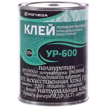 Клей универсальный УР-600 цвет прозрачный 0.75 л